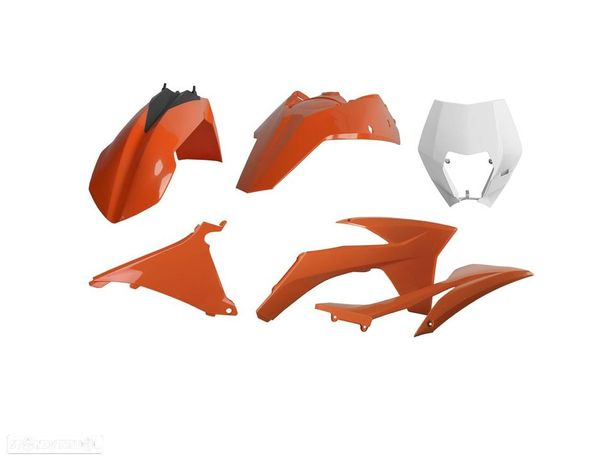 kit plasticos polisport ktm exc / exc-f 250 / 450