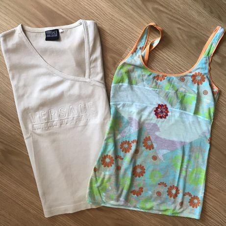T-shirts Custo Justo e Versace autênticas