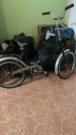 Bicicleta dobravel vintage restaurada