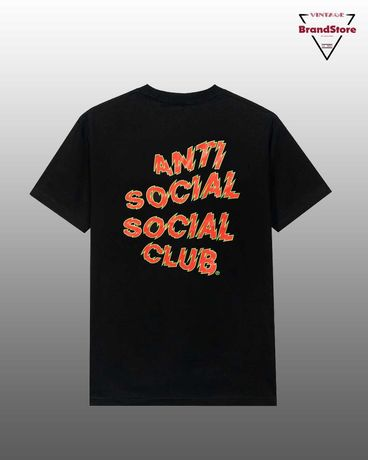 T-Shirt Anti Social Social Club Maniac Tee Black