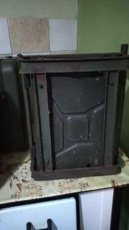 Kanister wojskowy z koszem lwp wp k750 ural ził star gaz