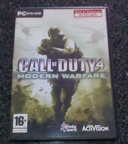 Jogo de computador Call of Duty4
