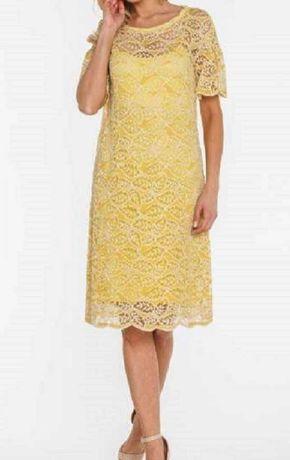 Sukienka koronkowa w marki Paola Collection r. 38 nowa - wyprzedaż