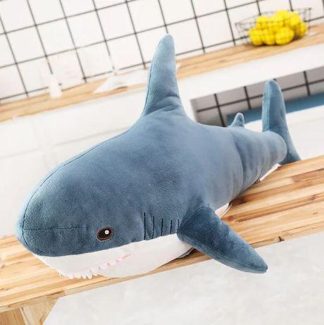 Мягкая игрушка акула Shark doll 60 см. Лучшее качество