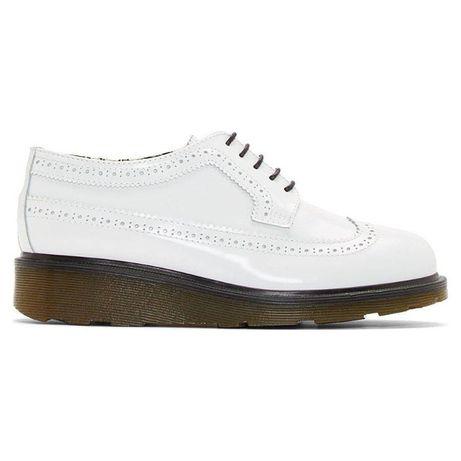 Pollini studio buty mokasyny półbuty botki martens derby białe 37/38