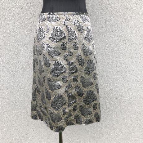 Miu miu шовкова спідниця юбка шелк розмер м 38
