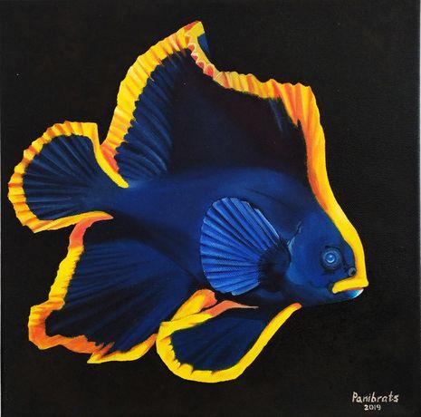 """Obraz olejny """"Batfish"""""""