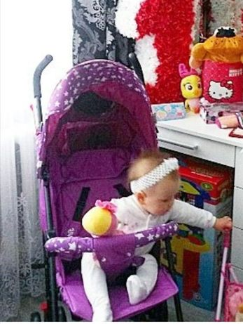Коляска прогулочная baby hit модель wonder