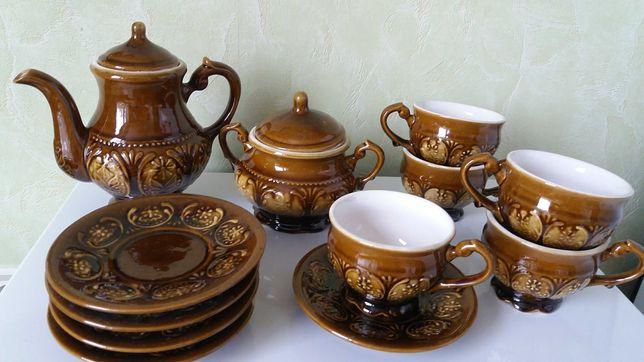 Чайно-кофейный керамический сервиз