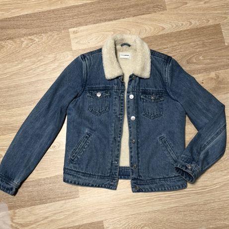 Джинсовка, джинсовая куртка на меху Pimkie