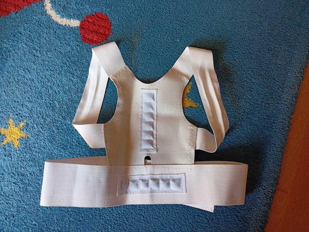 DR. GEM ARMOR Corretor de Postura Magnético Ajustável, Branco (Novo)