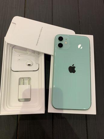 iPhone 11 128gb green зеленый тиффани как новый идеал