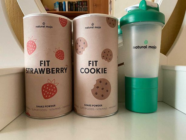 Natural Mojo Fit Strawberry i Fit Cookie