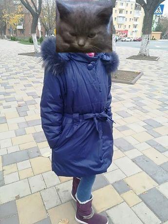 Зимнее пальто войчик Wojcik на рост 122