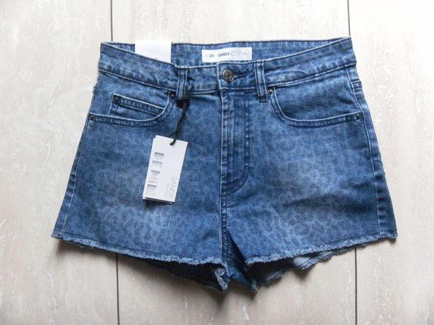 Nowe krótkie spodenki szorty jeansy Sandy 36,S
