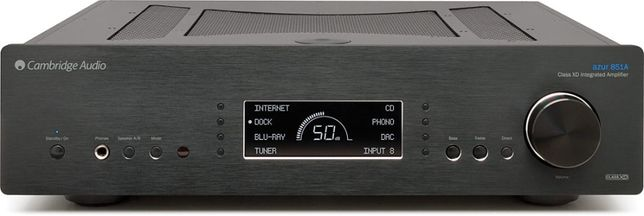Cambridge Audio AZUR 851A CZARNY wzmacniacz zintegrowany
