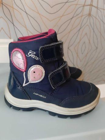 Buty zimowe sniegowce dla dziewczynki GEOX rozm 23