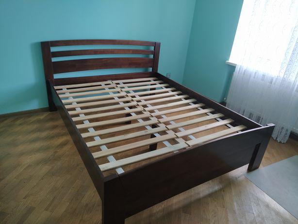 Ліжко дерев'яне букове двоспальне 160*200