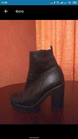 Продам ботинки осенние (натуральная кожа)