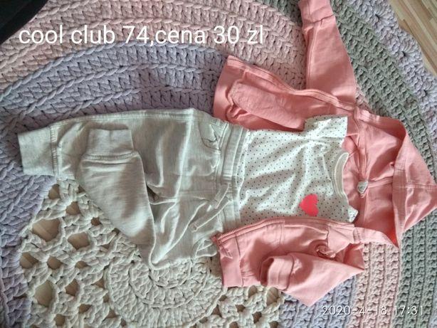 Ubranka dziewczynka 68 74