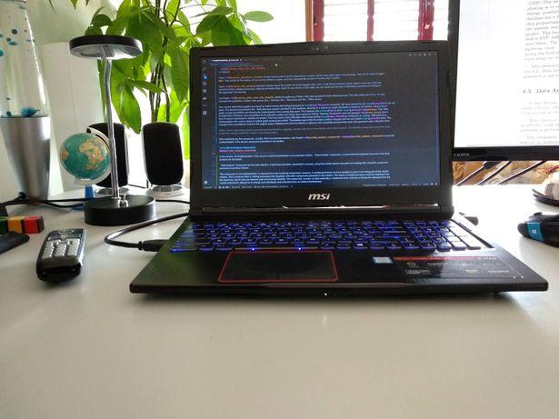 MSI GE63 - i7-8750H - GTX 1060 - 16GB RAM