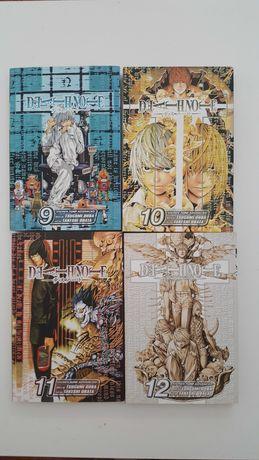 Vendo 4 livros do mangá Death Note em inglês