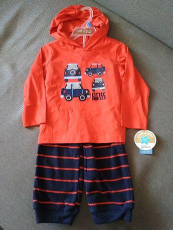 Комплект новый carter's (картерс), сша, мальчику на 2 года весна/лето