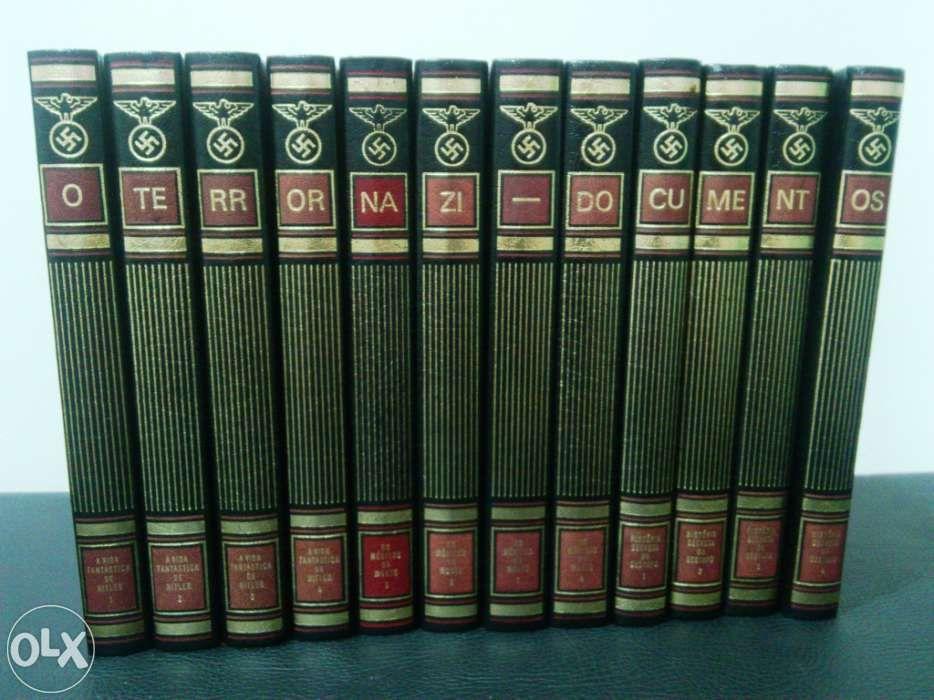 """O terror nazi - """"documentos"""", coleção completa, 12 tomos!"""