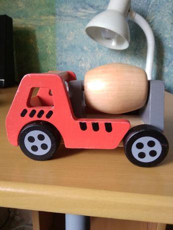 Бетономешалка,машинка деревянная.