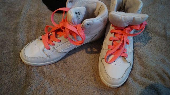 Buty sportowe Adidasy Sneakersy Cropp 38 Białe