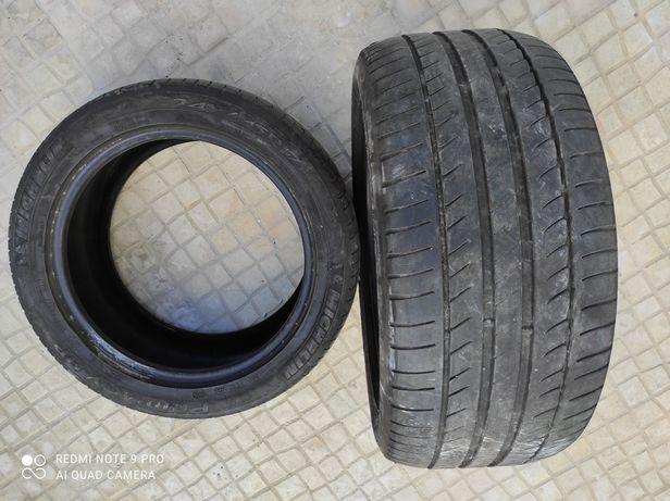 2 pneus 245/45/ 17 usados