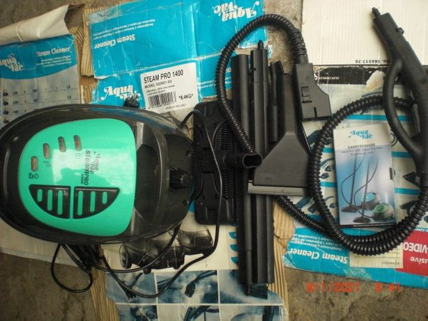 Myjka parowa Aqua Vac SteamPro 1400 odkarzanie
