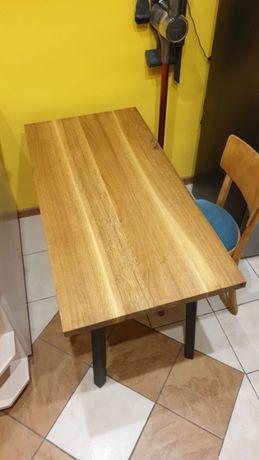 Stolik 120x60 lite drewno dębowe ława klejonka rustykalna