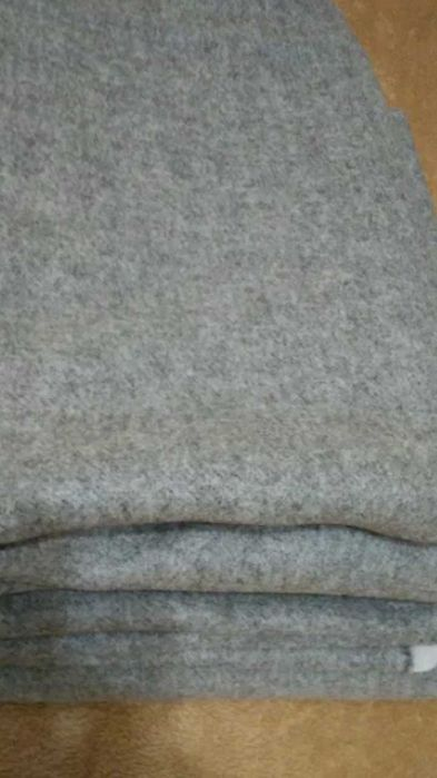 Материал.Ткань пальтовая серая.Корея Валки - изображение 1