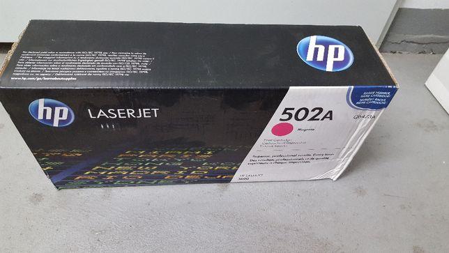Toner HP 502A Komplet 3 sztuki 1 x Q6473A, 2x Q6471A