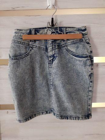 Spodnica jeansowa 36  Sinsay