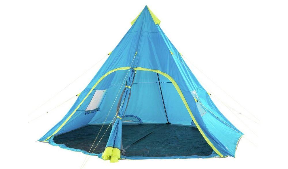 Namiot kempingowy Trespass dla 6 osób z 1 pokojem
