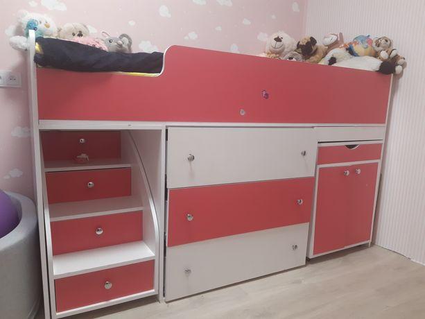 Кровать чердак ДМ 405