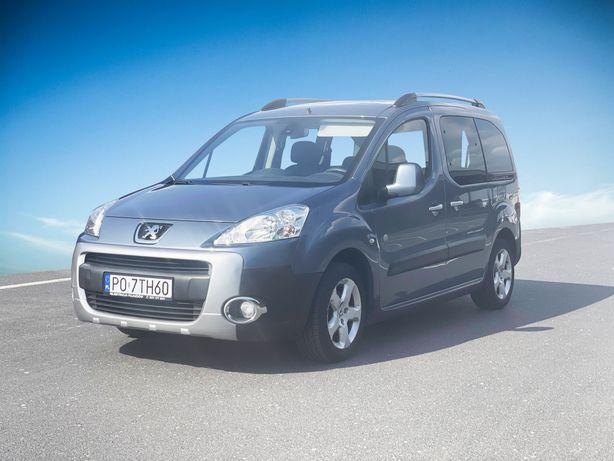 Peugeot Partner wynajem wypożyczalnia samochodów ekonomiczny Poznań