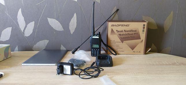 Radio Baofeng UV 82 dwukanałowe plus antena 39cm NAGOYA NA-771