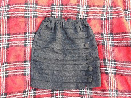 Юбка для девочки в школу для школы школьная форма бу