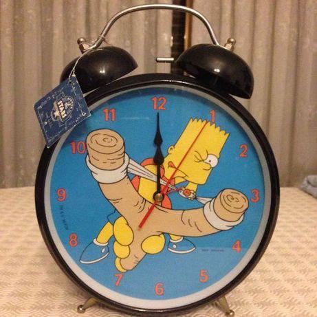 Relógio de Quarto Simpsons (Bart)