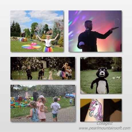 Animacje dla dzieci i dorosłych/Pokazy baniek mydlanych/ Animator