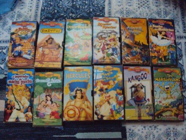 Cassetes de video infantis