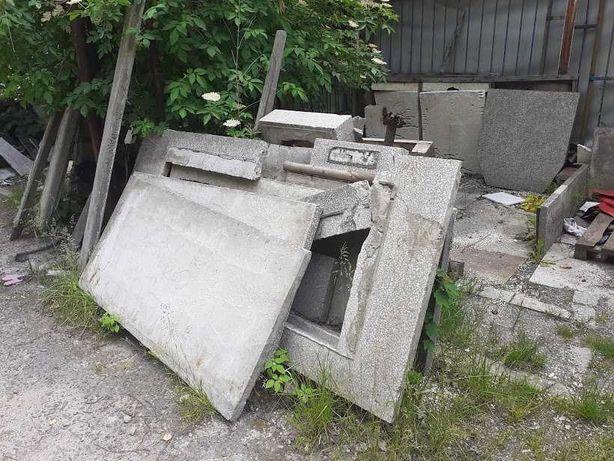 Oddam GRUZ, płyty betonowe