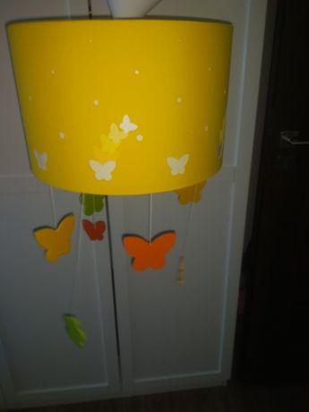 Philips Lampa dziecięca wisząca z motylkami. Stan idealny.
