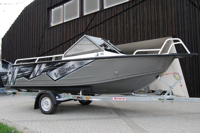 Алюминиевая моторная лодка Беркут L-Fisher