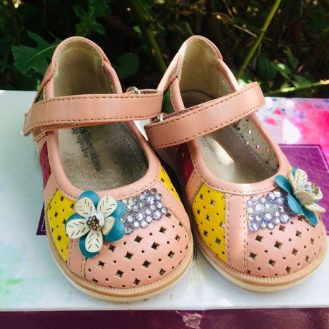 Продам ортопедические туфельки, туфли на девочку Шалунишка