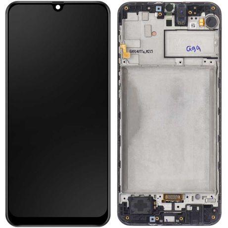LCD Samsung M21 M215 oryginalny montaż