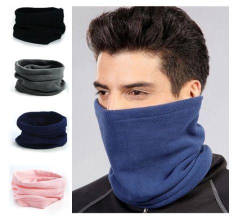 Горловик шапка флисовый баф флис на лицо/шею горло на завязке/шнурке